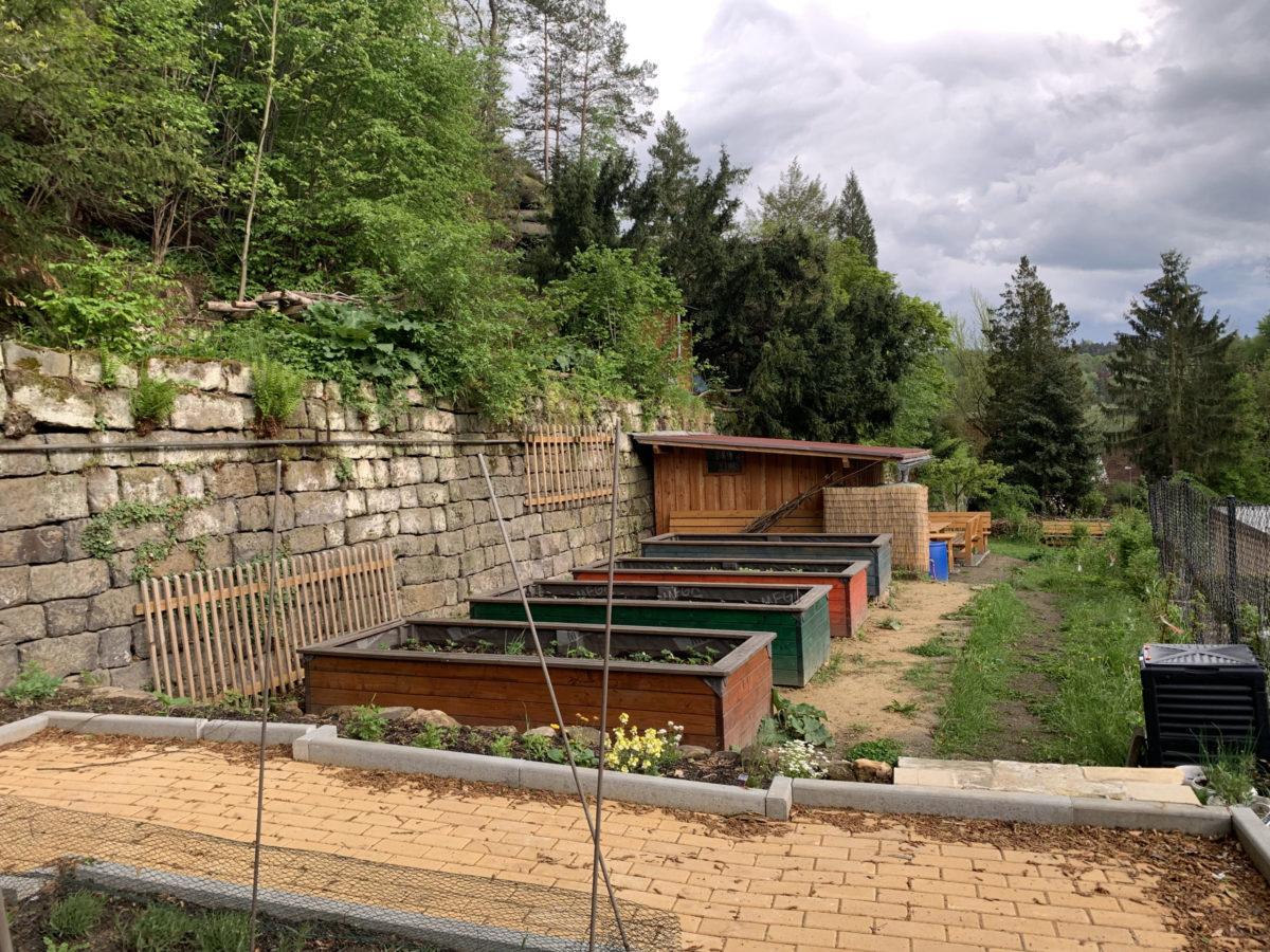 Grünes Klassenzimmer & Schulgarten